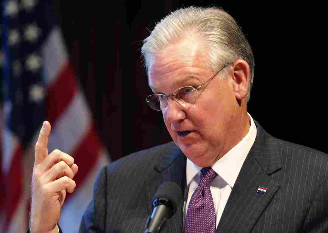 Republican lawmakers in Missouri on Wednesday failed to override a tax veto by Democratic Gov. Jay Nixon. The controversial measure would have lowered state income taxes for the first time in decades.