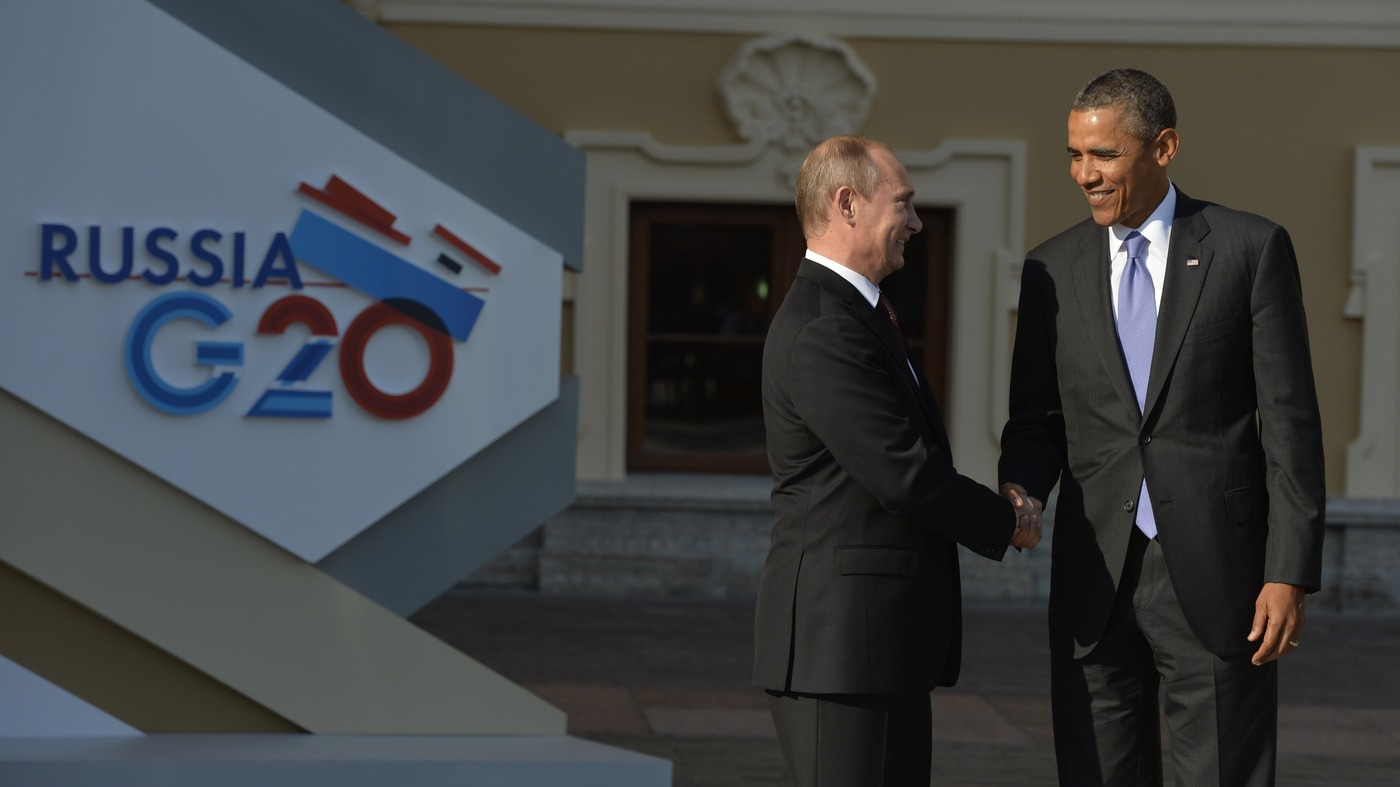Frenemies Forever Why Putin And Obama Can T Get Along Npr