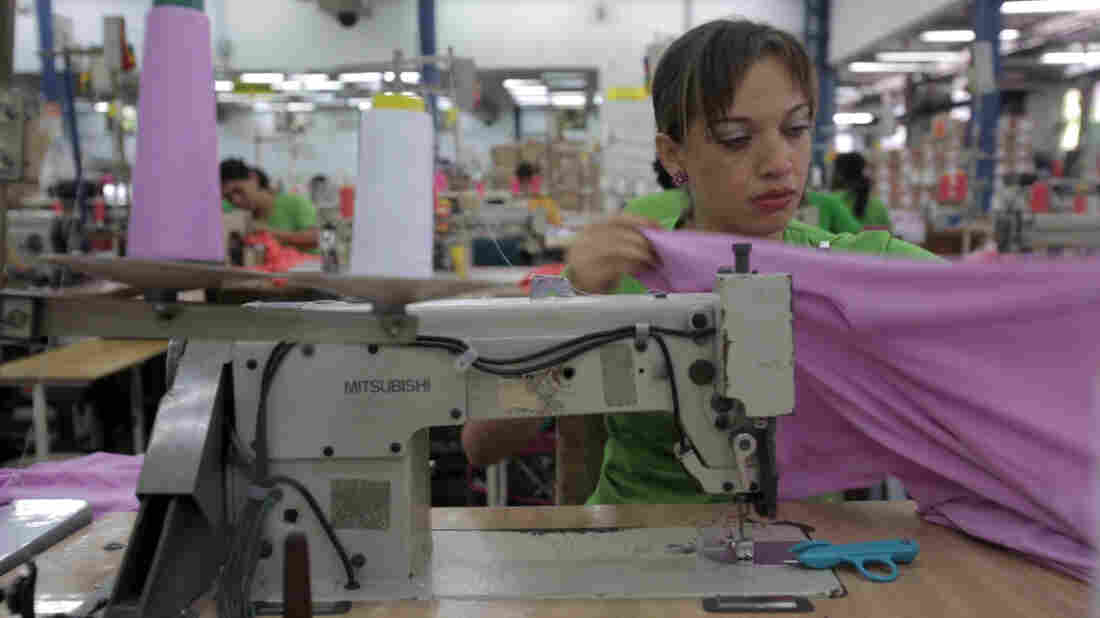 Colombia sewing