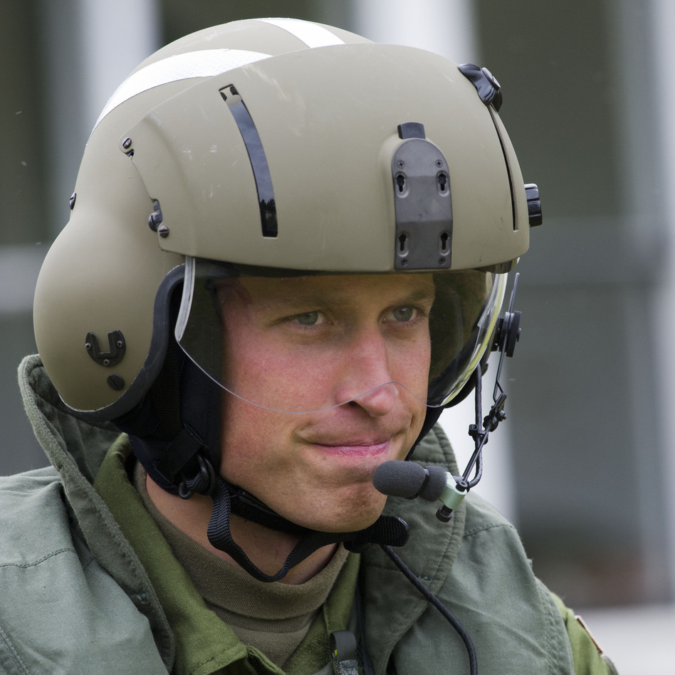 Flight Lt. Wales (a.k.a. Prince William or the Duke of Cambridge).