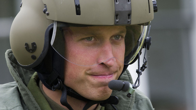 Flight Lt. Wales (a.k.a. Prince William or the Duke of Cambridge). (Getty Images)