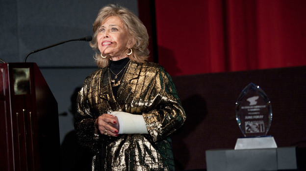 Voice actress June Foray will receive the Governor's Award at the Creative Arts Emmys. (UCLA/Getty Images)