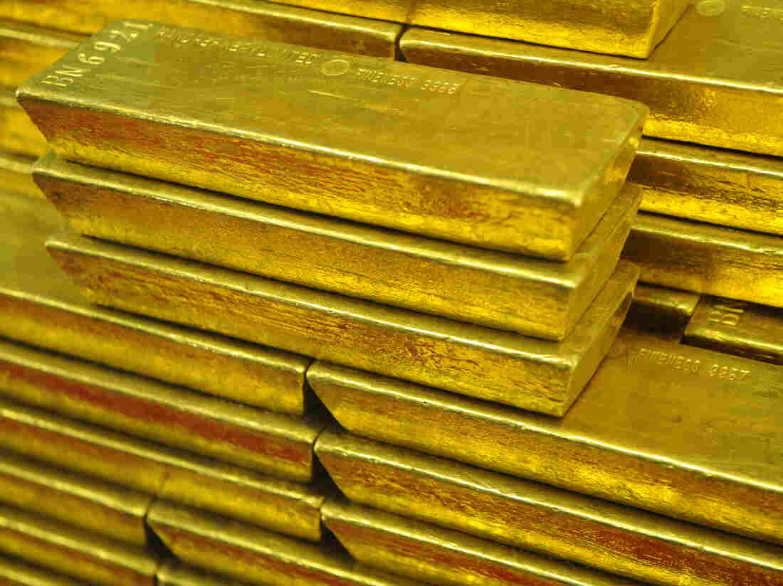 Gold exists, just as it really is, just as the physicist knows it to be, and that has nothing to do with us.