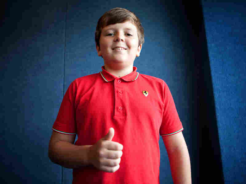 Jackson Merrick, a sixth-grader from McLean, Va., says he donates half of his allowance to charity.