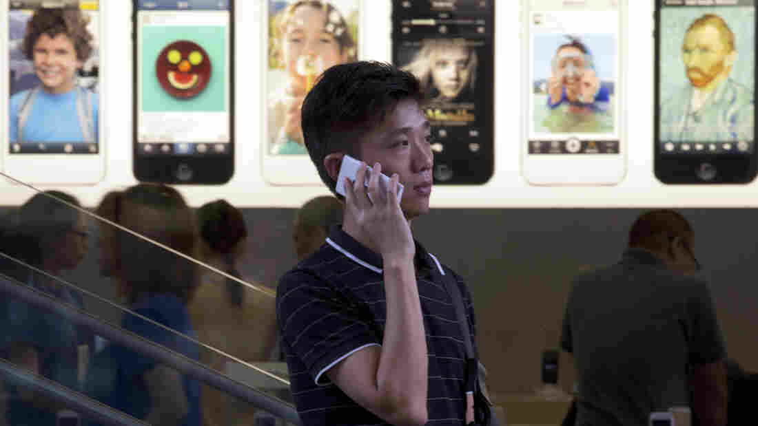 Apple's fingerprint technology is an effort to combat smartphone theft.