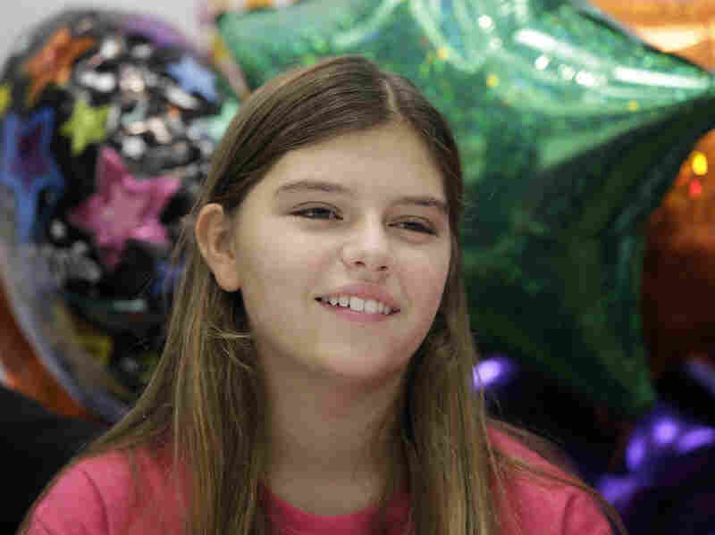 Kali Hardig, 12, was released from a hospital in Little Rock, Ark., on Sept. 11 after surviving a brain infection caused by amoebas.