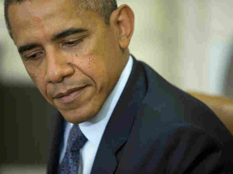 President Obama's speeches about Syria have at times seemed to reveal his own internal struggle on the topic.