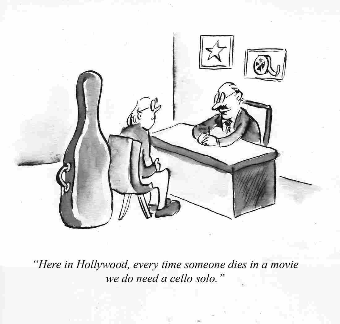 Cartoon by Pablo Helguera for NPR.