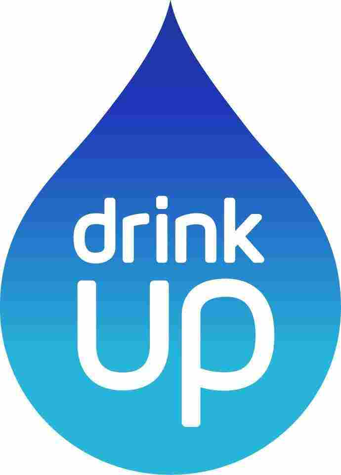 The Drink Up logo will appear on bottled water, outdoor taps and reusable bottles.