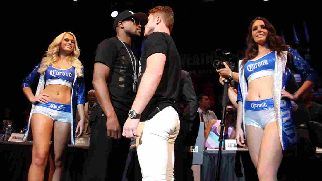 """Floyd Mayweather and Saul """"Canelo"""" Alvarez are at the center of one of the biggest sports events of the year, but you wouldn't know it by looking at mainstream sports media."""
