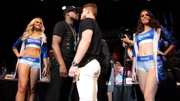 "Floyd Mayweather and Saul ""Canelo"" Alvarez are at the center of one of the biggest sports events of the year, but you wouldn't know it by looking at mainstream sports media."