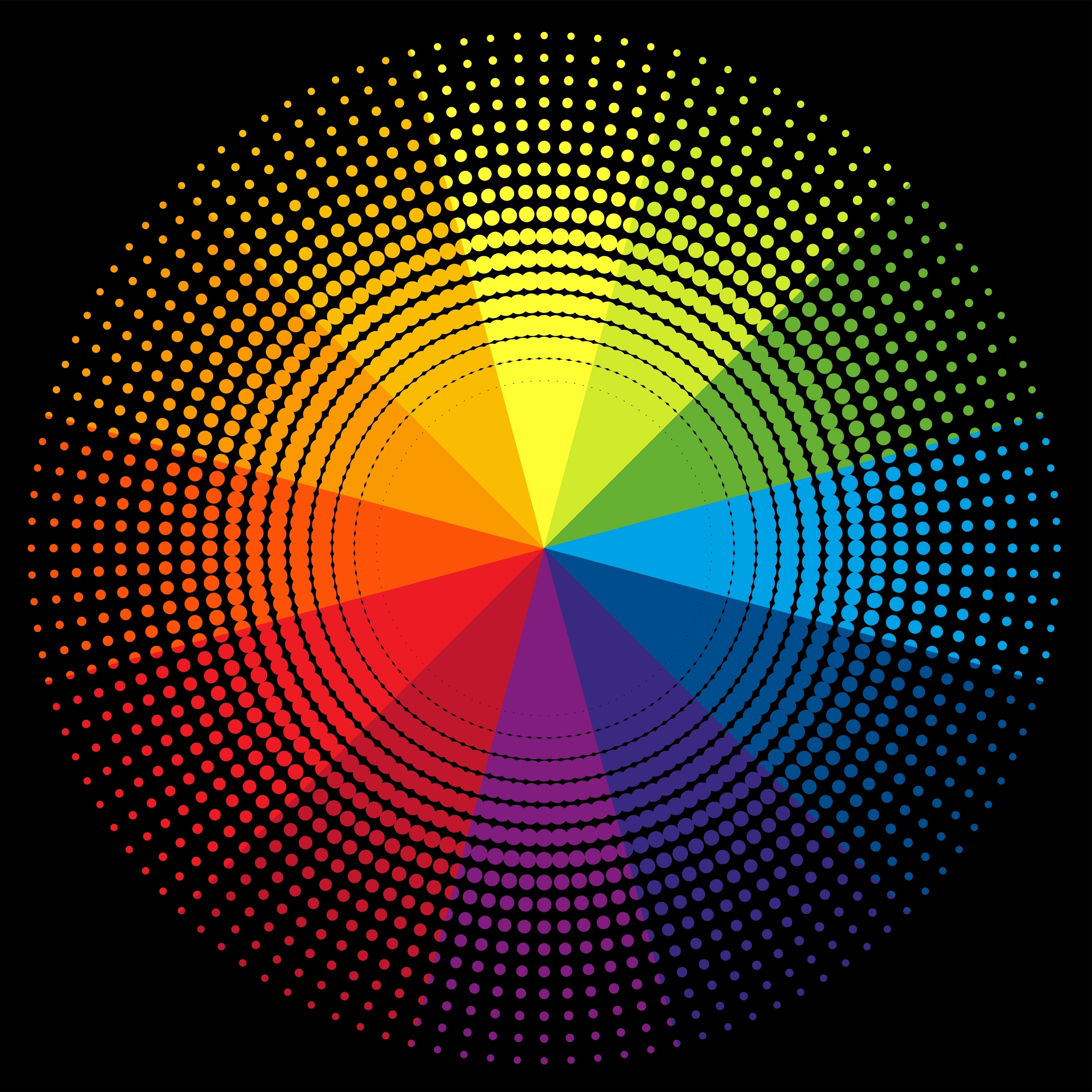 Roy G Biv color wheel