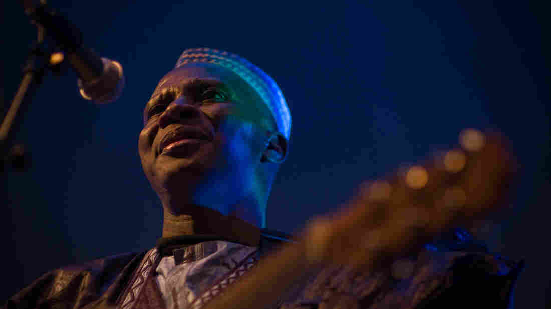 Sidi Touré's new album, Alafia, is his third international release.