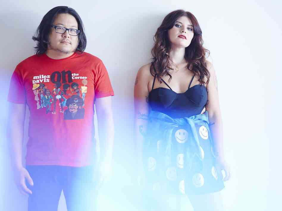 Bobb Bruno and Bethany Cosentino of Best Coast.