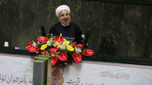 Iran's President Hasan Rowhani, who was elected in June, has ex