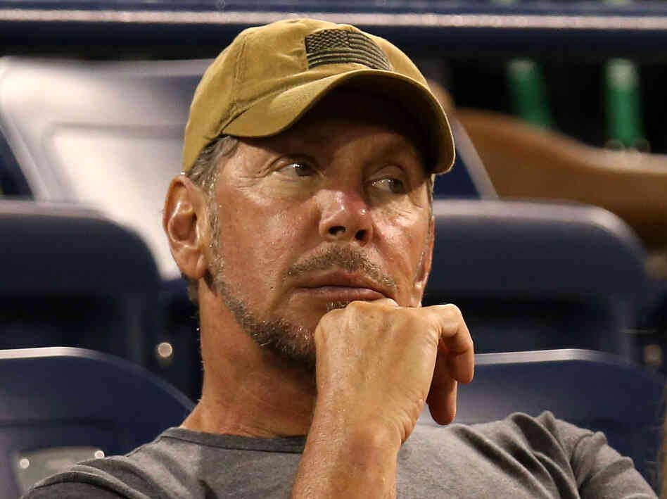 Larry Ellison, CEO of Oracle, is No. 3 on the Forbes 400 list of the wealthiest Americans.