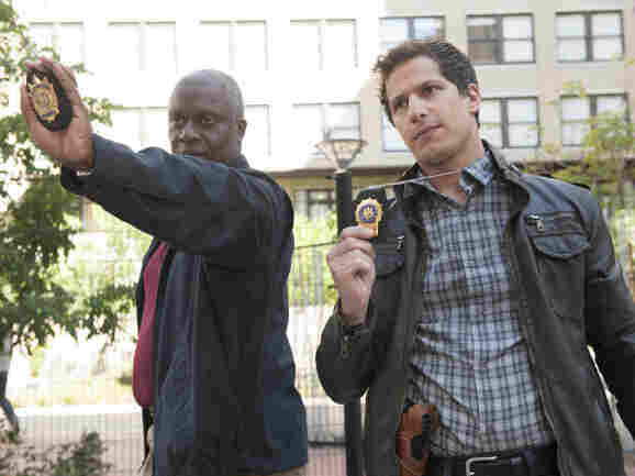 Andre Braugher and Andy Samberg make a surprisingly good pair in the new Fox comedy Brooklyn Nine-Nine.