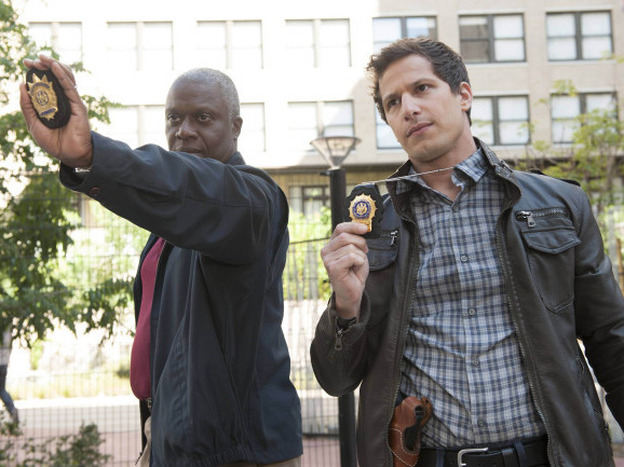 Andre Braugher and Andy Samberg make a surprisingly good pair in the new Fox comedy <em>Brooklyn Nine-Nine.</em>