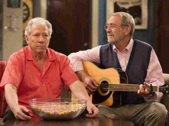 Cranky, Meet Pants: Peter Riegert and Martin Mull play the fathers of Seth Green and Giovanni Ribisi in Dads. It's only the most problematic of several new fall shows involving crotchety old folks.