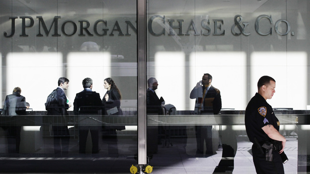 JPMorgan Chase will reportedly pay a $700 million fine to settle allegations that it made risky trades out of its London office that led to more than $6 billion in losses. (AP)