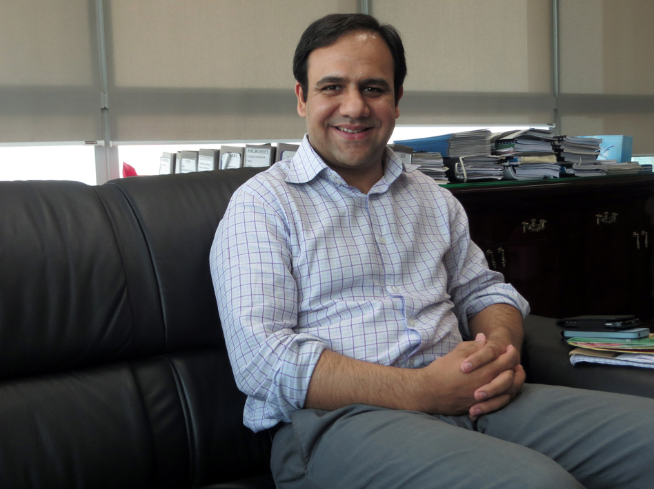 Computer scientist Umar Saif created a smartphone app to monitor Lahore's anti-dengue activities and to track cases throughout the city. (NPR)