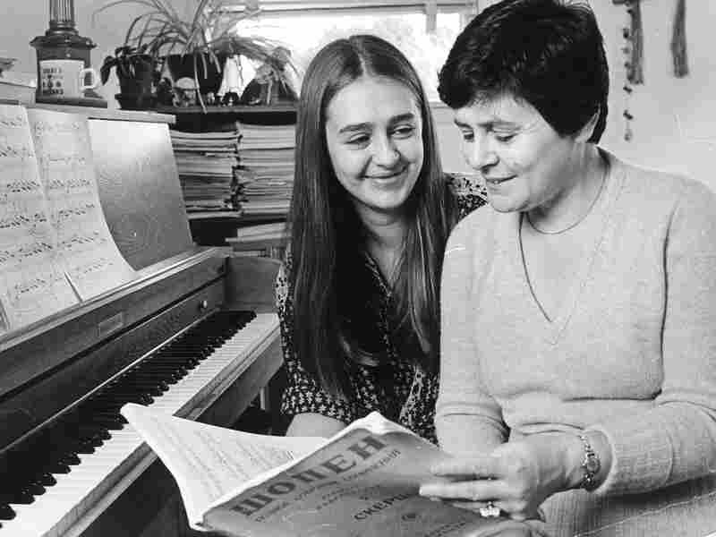 Anya von Bremzen emigrated from Russia with her mother (here, in Philadelphia in 1978) when she was 10 years old.