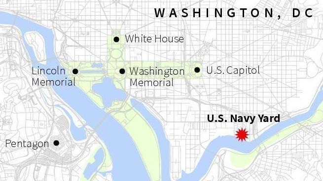 Washington Navy Yard Site Of Shooting Has Long History The Two