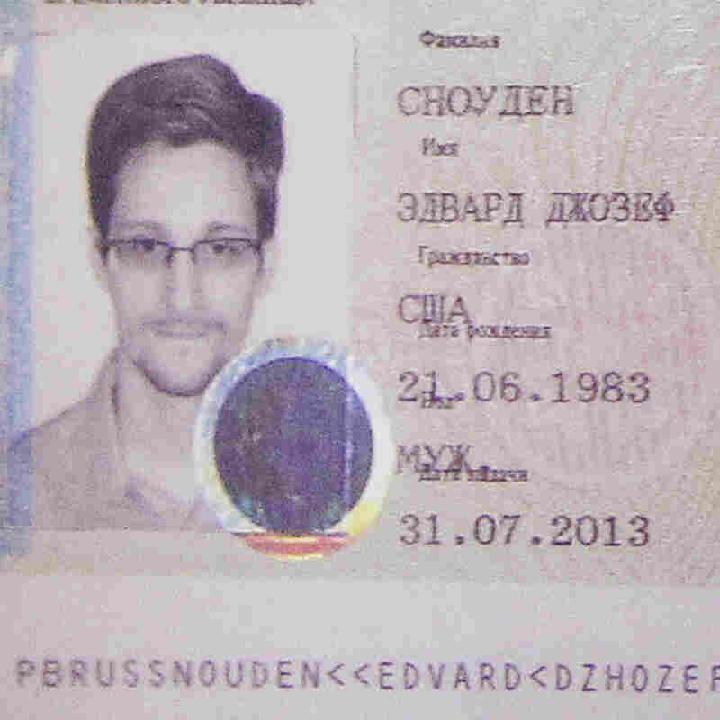 Officials: Edward Snowden's Leaks Were Masked By Job Duties