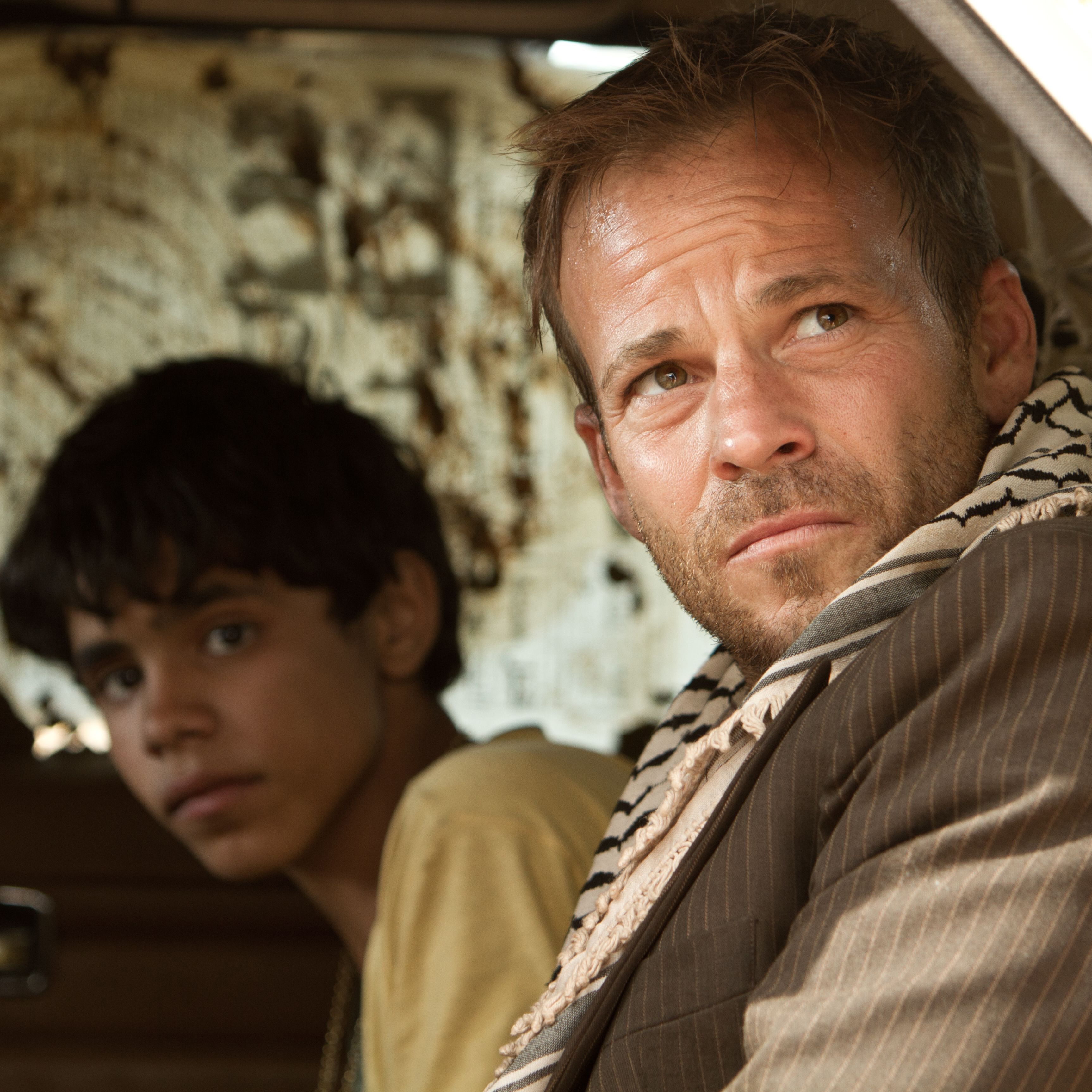 Stephen Dorff as Yoni and Abdallah El Akal as Fahed