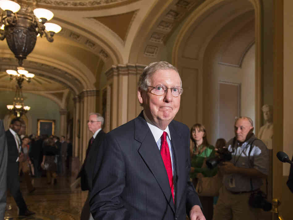 Senate Minority Leader Mitch McConnell, R