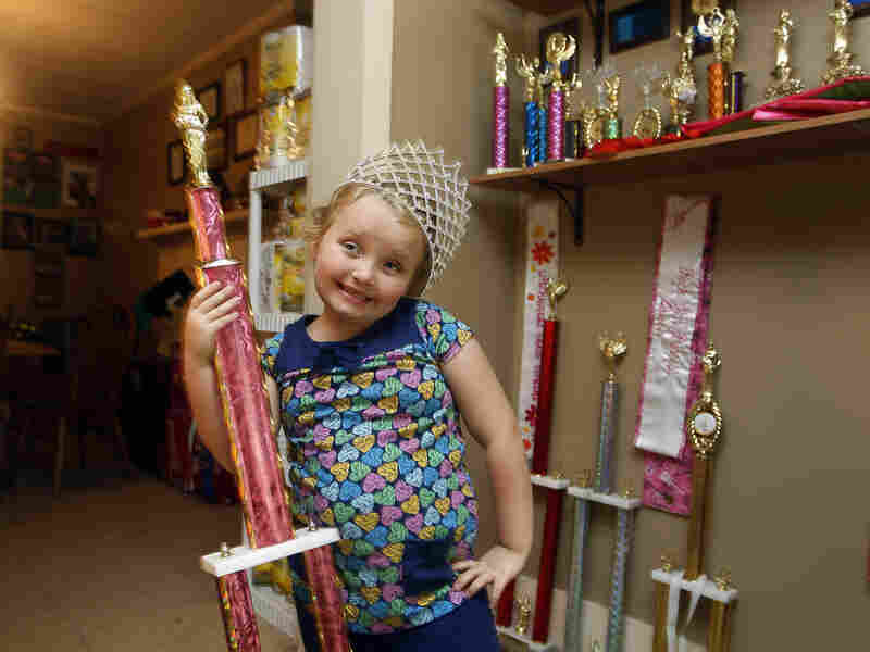 Seven-year-old beauty queen Alana Thompson and her family are featured on the popular American show Here Comes Honey Boo Boo.