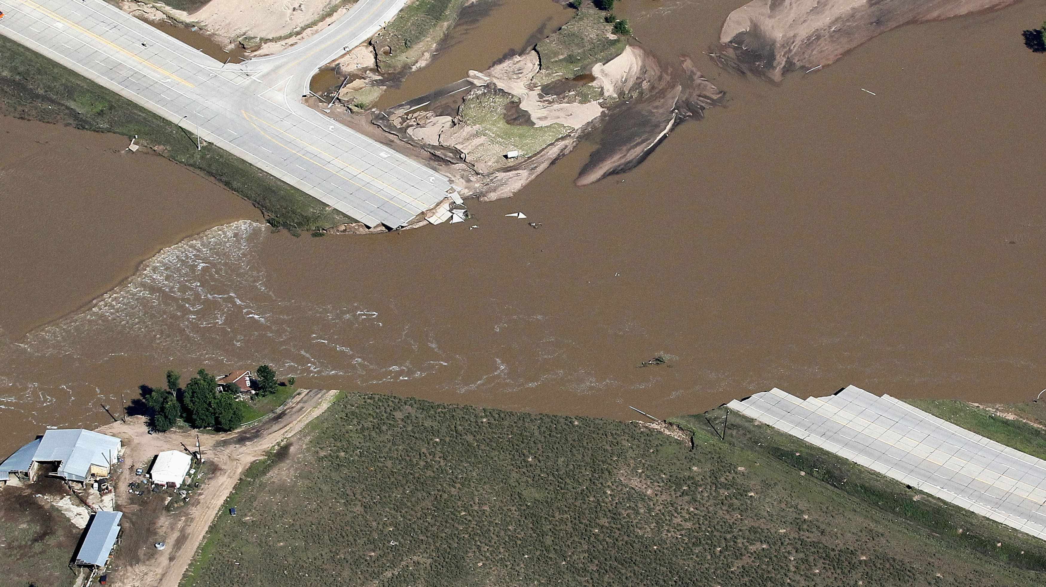 As Colorado Floodwaters Recede The Damage Becomes Clear