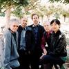 Bryce Dessner with the Kronos Quartet: David Harrington, John Sherba, Hank Dutt, and Sunny Jungin Yang.