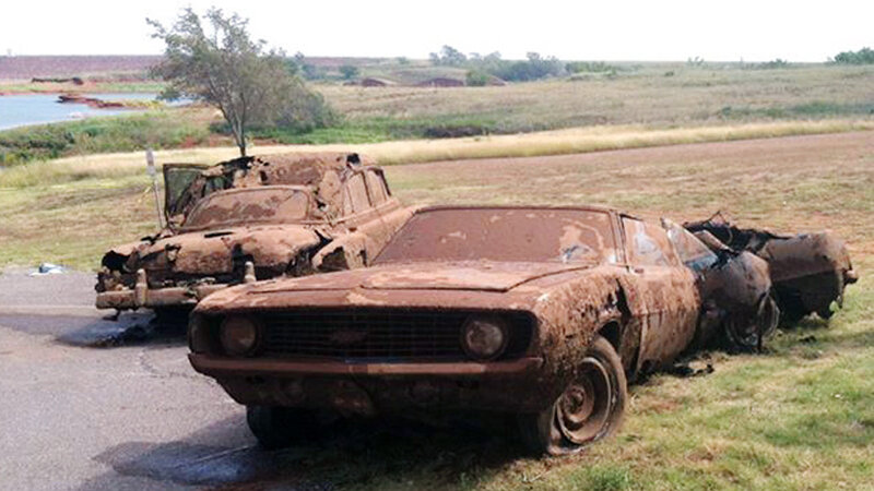 2 Cars, 5 Or 6 Bodies From Decades Ago Found In Oklahoma