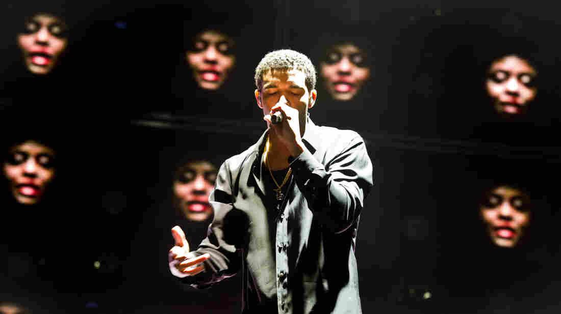 Drake performing in Paris last April.