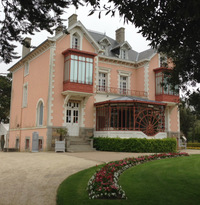 As a teenager, Dior helped his mother design the garden at their pink house, up a winding seaside road in Granville.