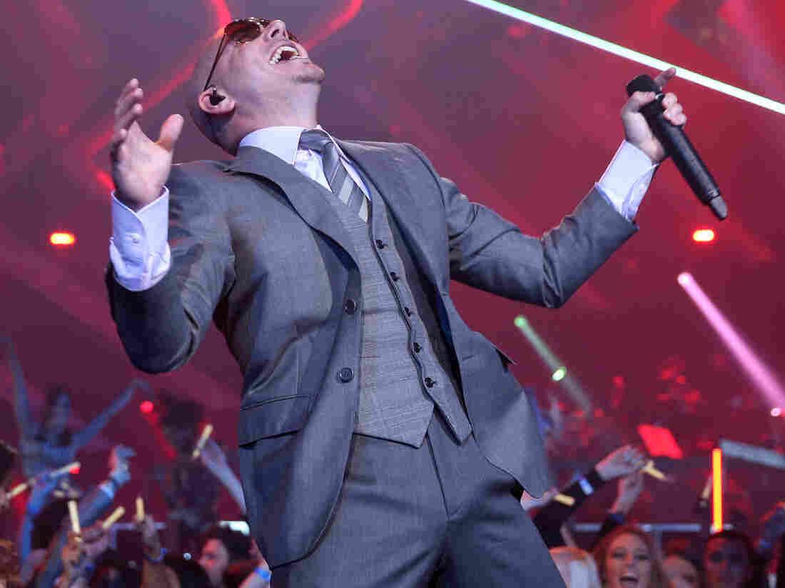 Cuban-American rapper Pitbull digs funk and hip-hop.