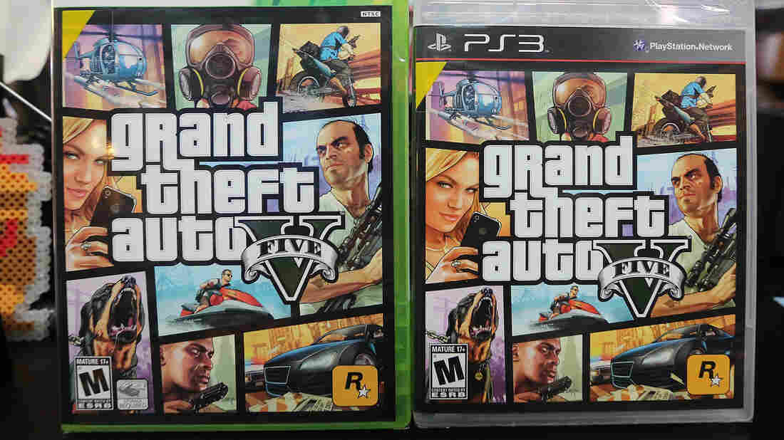 Grand Theft Auto V raked in more than $800 million in sales in its first 24 hours on the shelves.