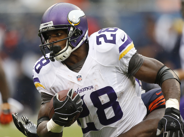 Lots of fantasy managers are taking out insurance on Adrian Peterson this year.