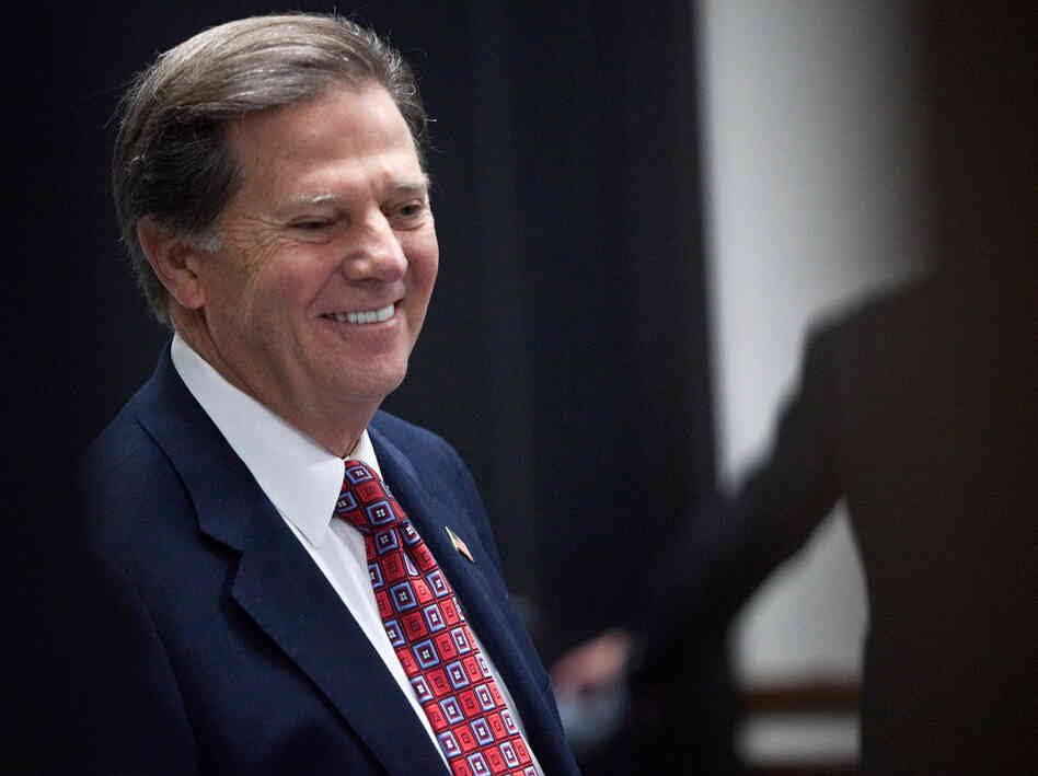Former House Majority Leader Rep. Tom DeLay, R-Texas, in 2011.