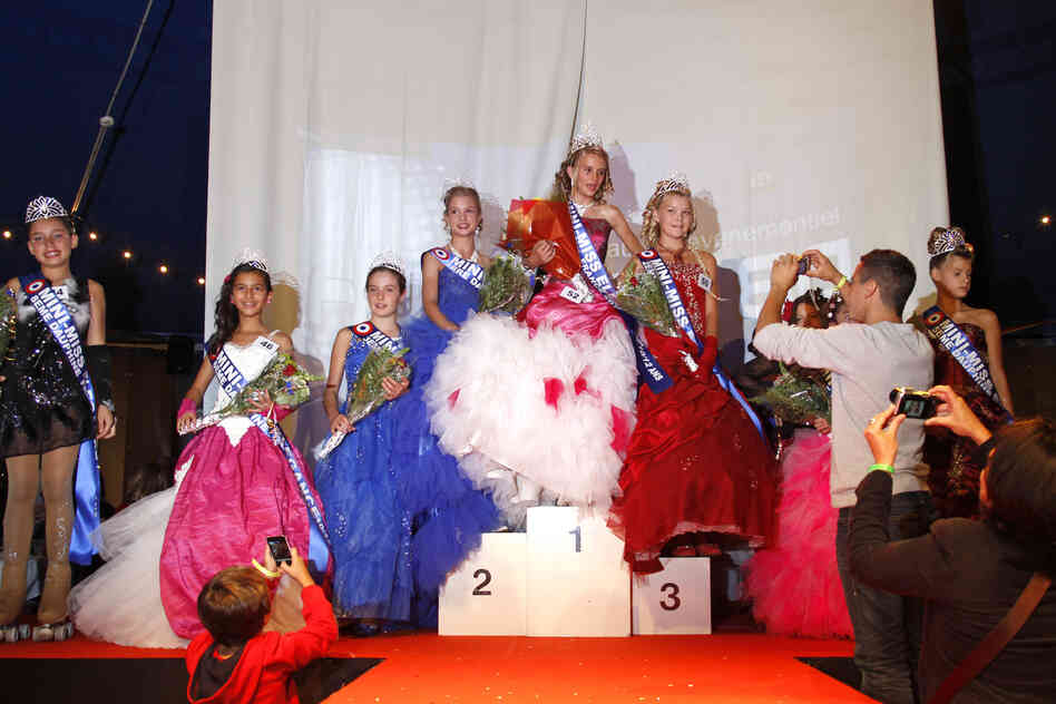 "Proposed legislation in France would ban pageants for the under-16 set, such as this ""Mini-Miss"" elegance beauty contest for 10-to-12-year-olds, held in Bobigny, near Paris, a year ago."