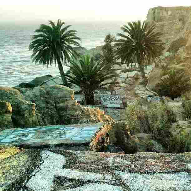 """San Pedro, Calif. — This is where the ending to """"The Big Lebowski"""" was filmed. Sunken City was a subdivision until a landslide destroyed it in 1929. Now it's a canvas for graffiti artists."""