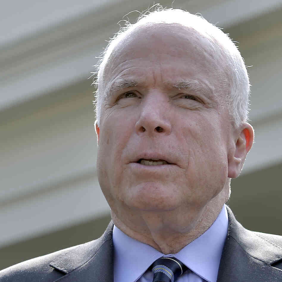John Mccain: Putin 'Doesn't Believe In You,' McCain Tells Russian