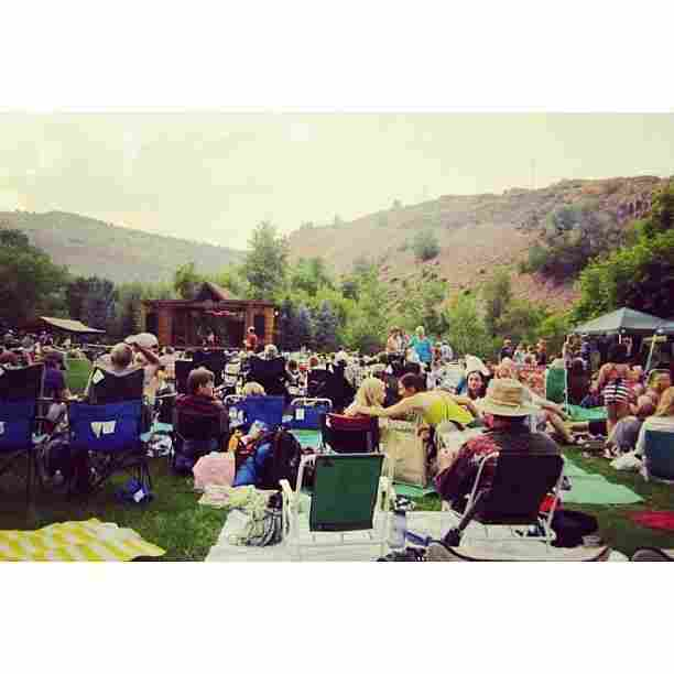 We camped and listened to folk music for three amazing days last month at Planet Bluegrass along the St. Vrain river in Lyons, CO, now completely underwater.