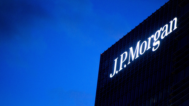The JPMorgan Chase building in London, where traders ran up huge losses. (AP)