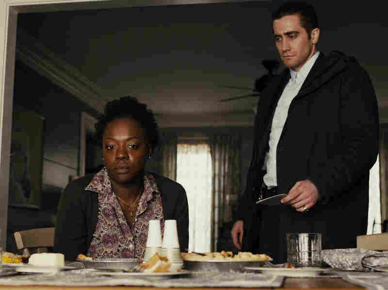 Viola Davis plays the mother of a second kidnap victim; Jake Gyllenhaal is the driven — and curiously idiosyncratic — detective on the case.