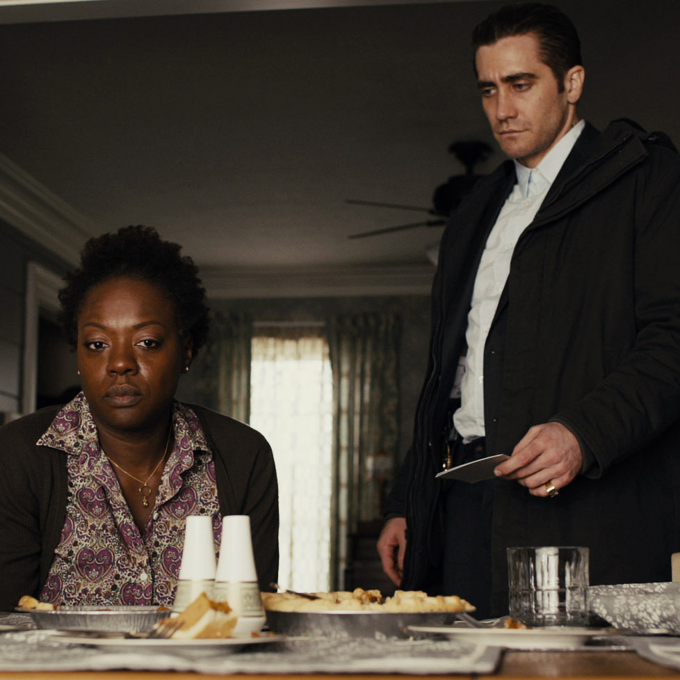 Viola Davis plays the mother of a second kidnap victim; Jake Gyllenhaal is the driven -- and curiously idiosyncratic -- detective on the case.