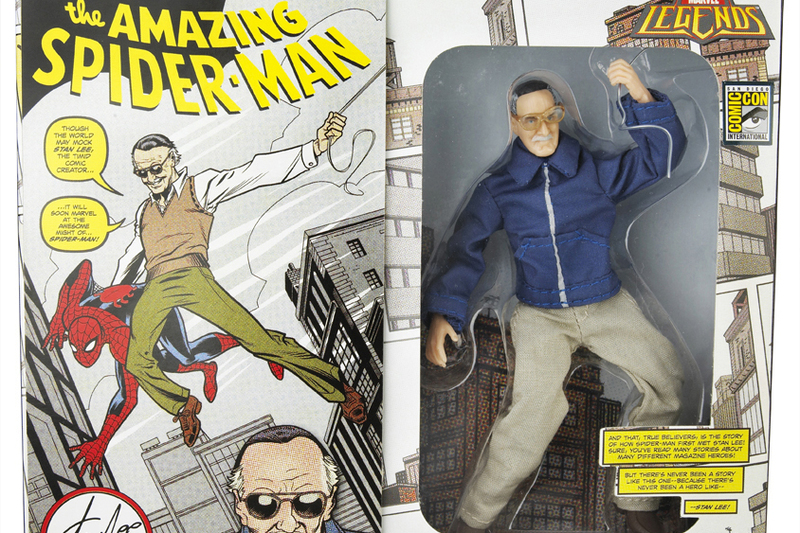 Hasbro pays plastic tribute to Stan Lee, the 84-year-old creator of Spider-Man, the Hulk, X-Men, Fantastic Four and other comic-book heroes by interpreting him as a 6-inch tall Marvel Legends action figure.