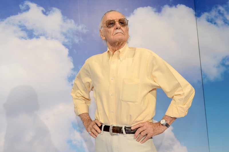 Stan Lee attends an event during Comic-Con in San Diego, Calif., on July 19, 2013.