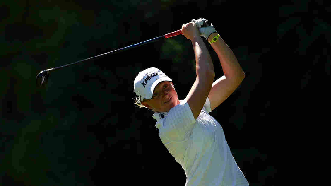 Scoliosis didn't keep golfer Stacy Lewis from becoming a top-ranked pro. She spent almost eight years wearing a back brace, yet still had to have surgery.